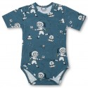 Baby body korte mouw - Space Explorers