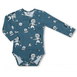 Baby body lange mouw - Space Explorers