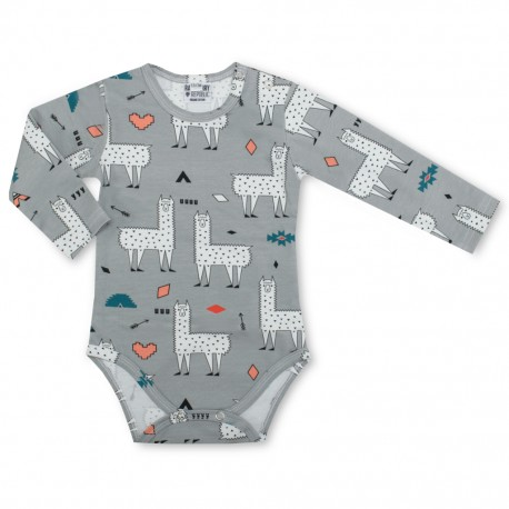 Baby body lange mouw - Alpaca Love