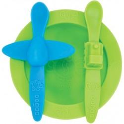 Oogaa Maaltijdset groen & blauw