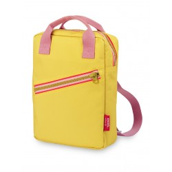 Engel. Rugzak Small | Zipper Yellow