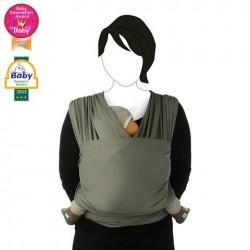 Draagdoek tricot-slen cool grijs