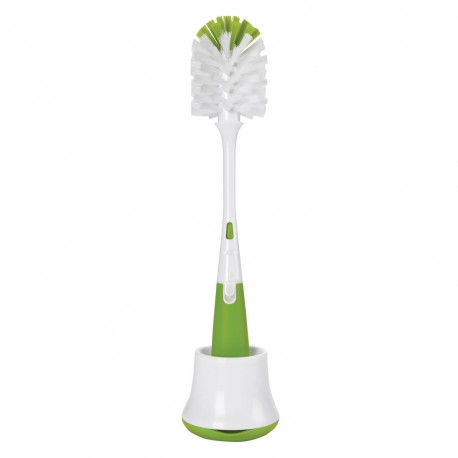 Oxo Tot Flessen- en Spenenborstel met staander Groen