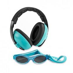 Baby Banz gehoorbescherming baby Combo Turquoise