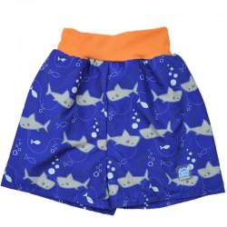 Happy Nappy zwemshort met haaien