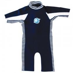 UV-beschermend combie wetsuit kind Navy