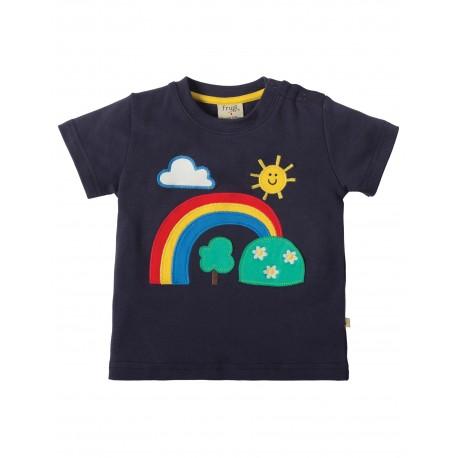 T-shirt Regenboog