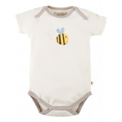Frugi baby romper Buzzy Bee